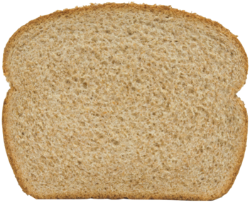 Dutch Country 100% Whole Wheat Bread Slice Image