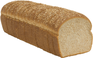 Dutch Country 100% Whole Wheat Naked Bread Loaf Image