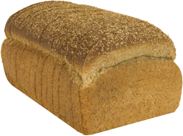 Double Fiber Naked Bread Loaf Image