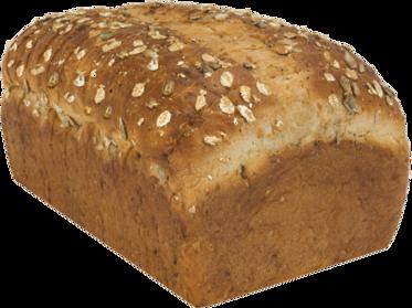 Honey Nut Naked Bread Loaf Image