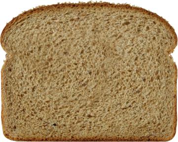100% Whole Wheat Bread Slice