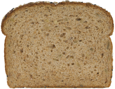 100% Whole Grain Bread Slice