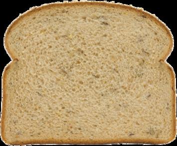 12 Grain Bread Slice Image