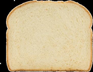 Organic Rustic White Bread Slice Image