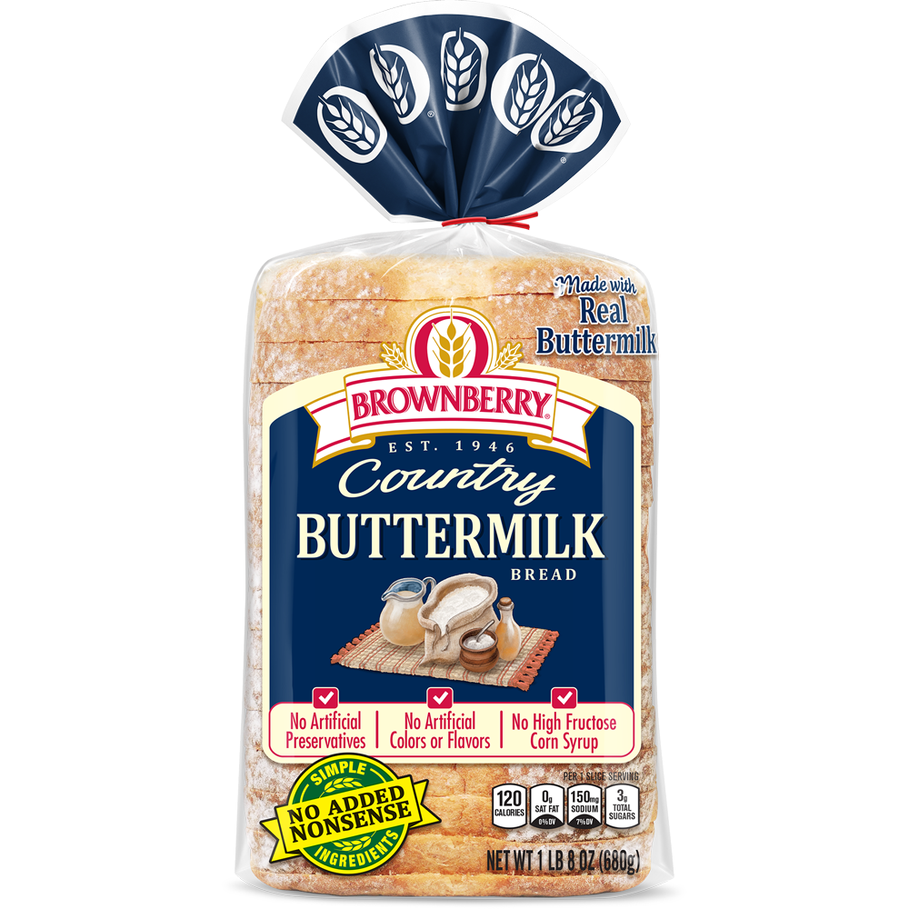 Brownberry Buttermilk Bread Package Image