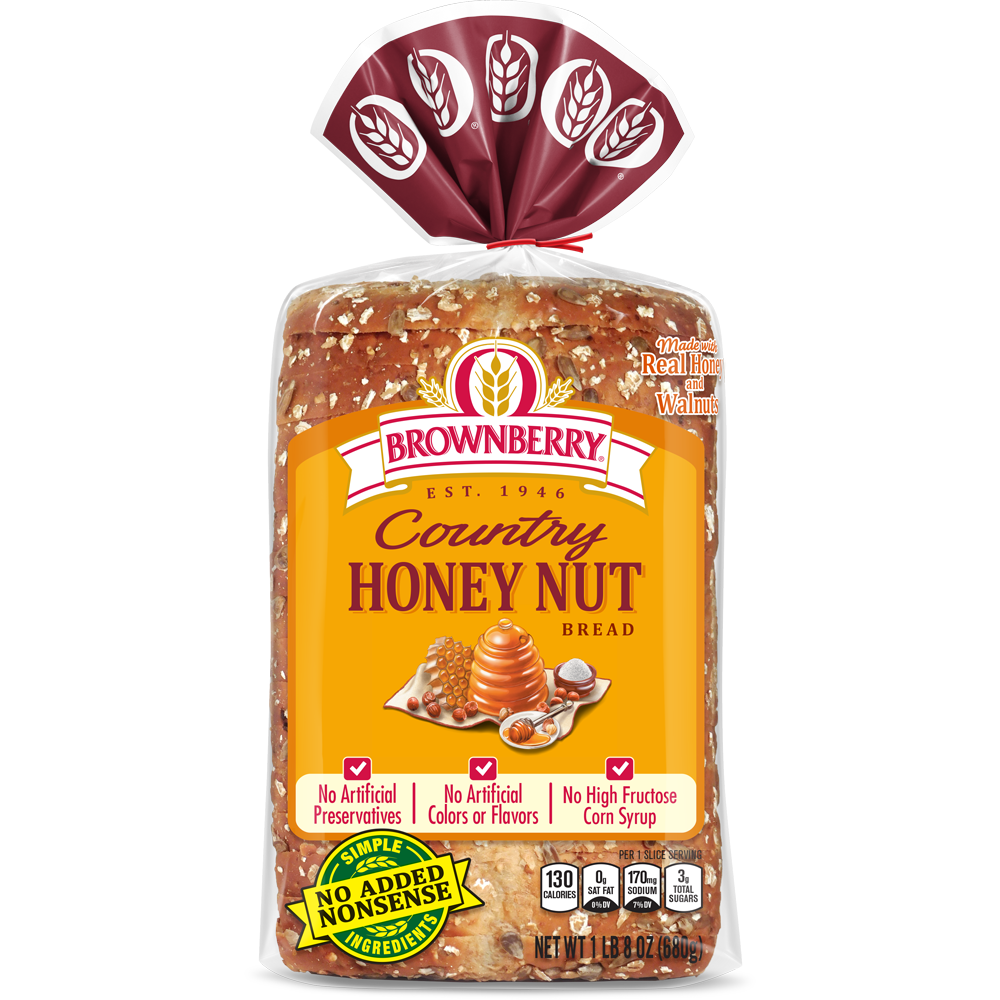 Brownberry Honey Nut Bread Package Image