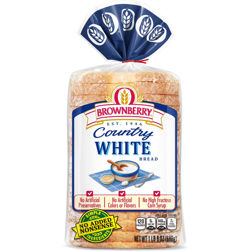 Brownberry White Bread Package