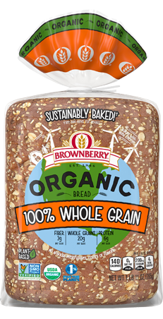 Brownberry 100% Whole Grain Bread Package Image