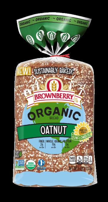 Brownberry Organic Oatnut 27oz Packaging