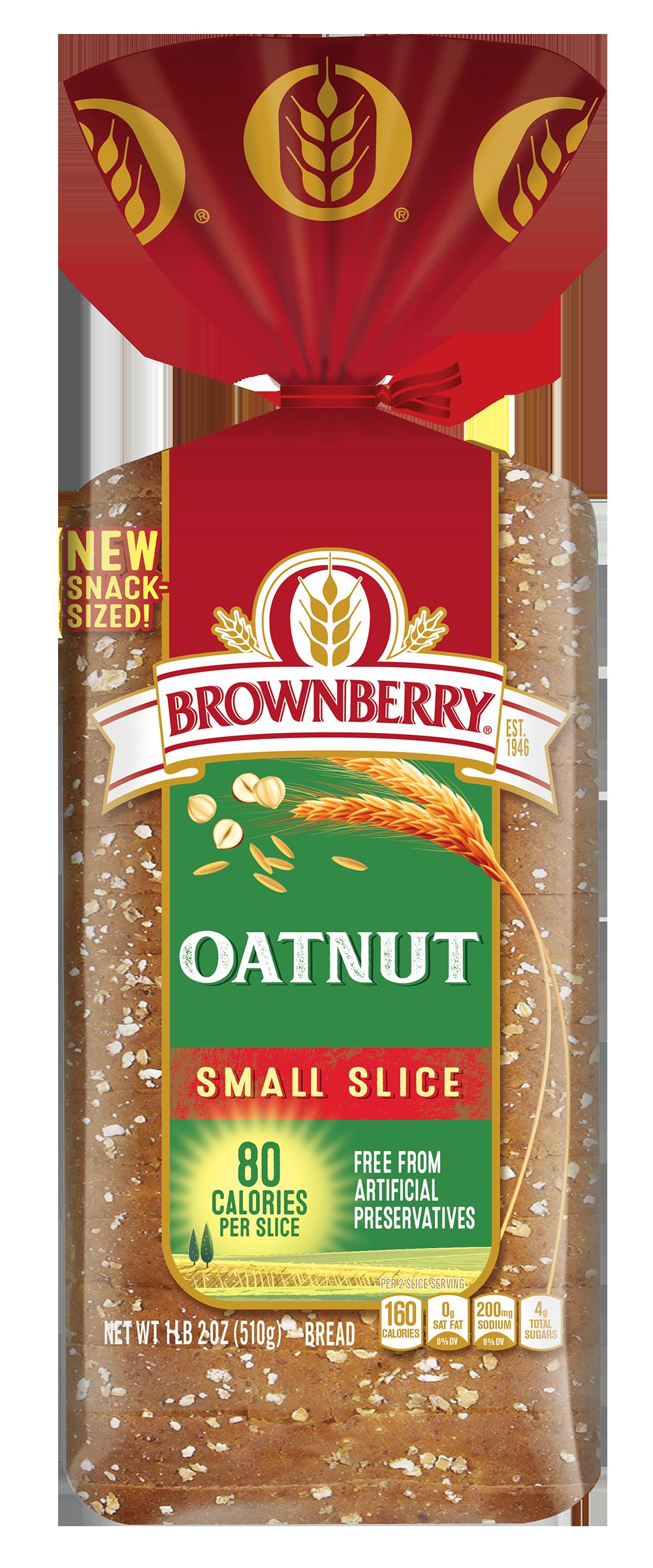 Brownberry Small Slice Oatnut 18oz Packaging