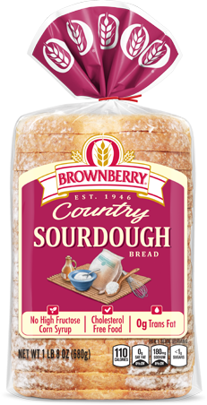 Brownberry Sourdough Bread Package Image