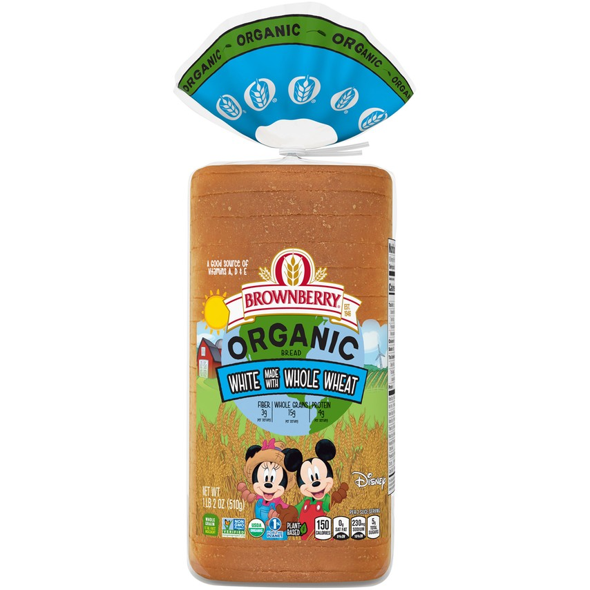 Brownberry Organic Kids White with Whole Wheat Product Image