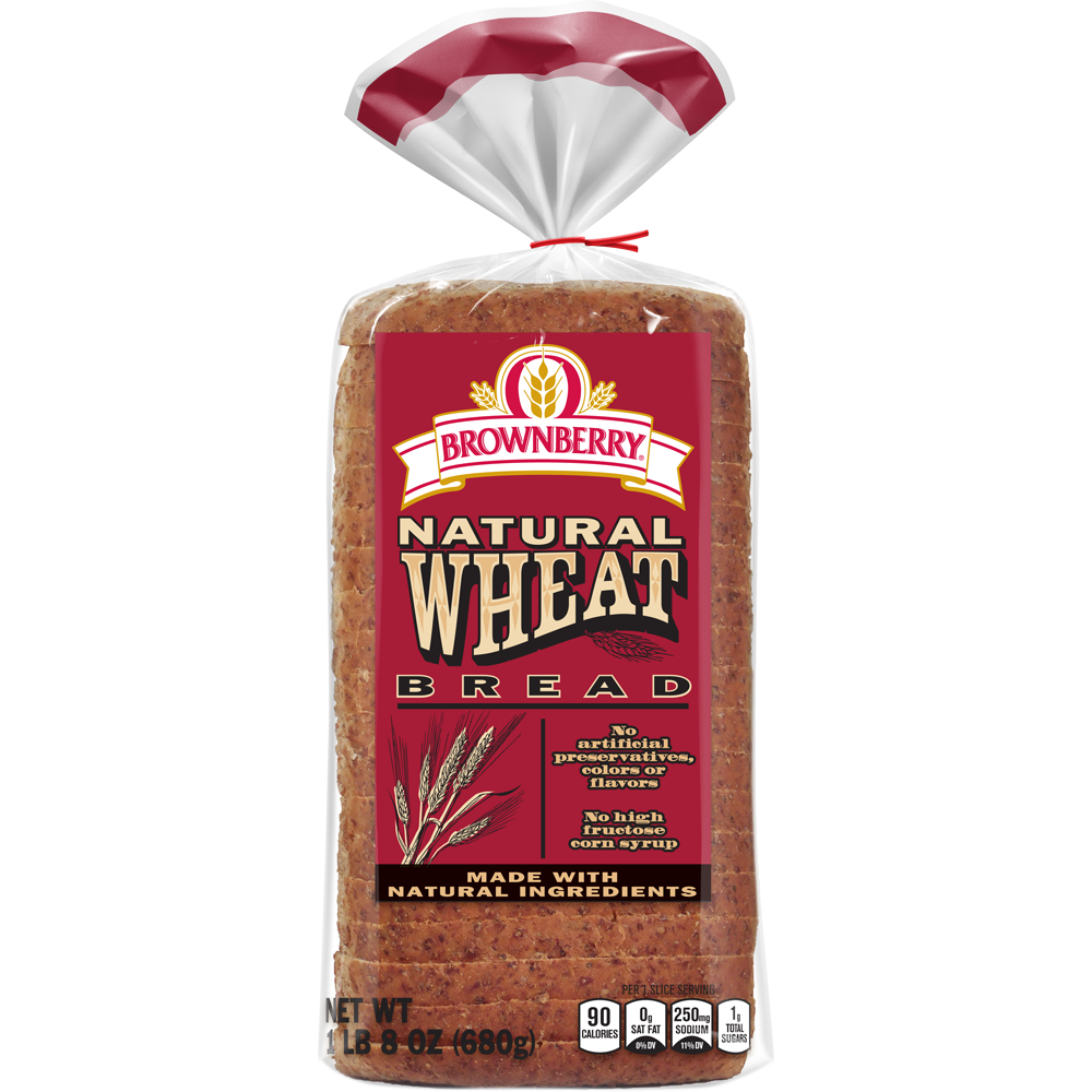 Brownberry Natural Wheat Bread Package Image