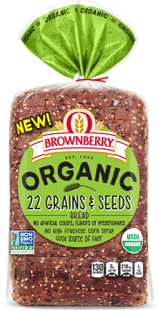 Bronberry Organic 22 Grains & Seeds Bread Package Image