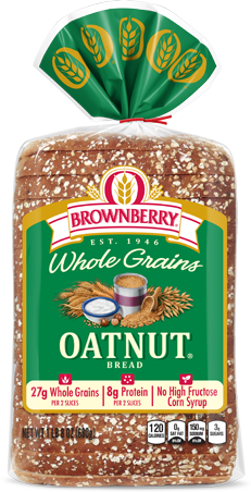 Brownberry Oatnut Bread Package Image