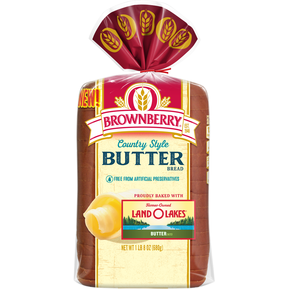 Brownberry Country Style Butter Bread 24oz