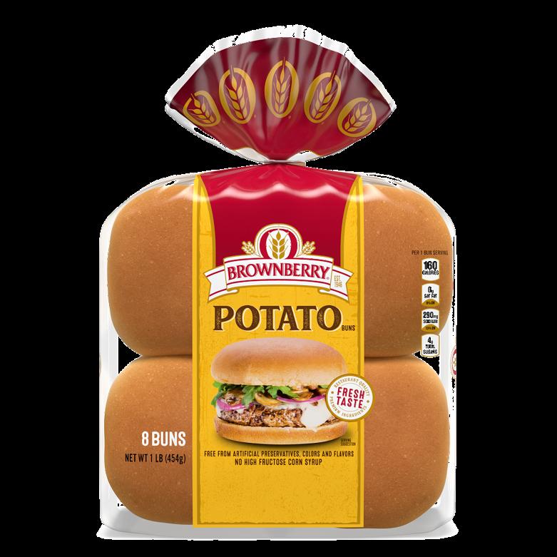 Brownberry Potato Sandwich Buns Package