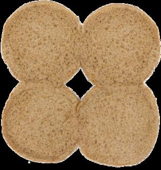 100% Whole Wheat Sandwich Buns Inside of Buns Image