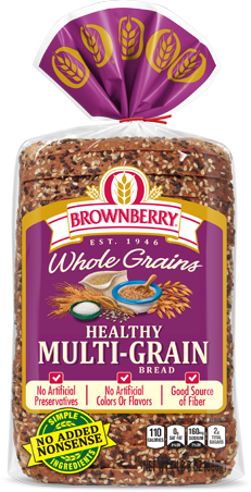 Brownberry Healthy Multi-grain Bread Package Image