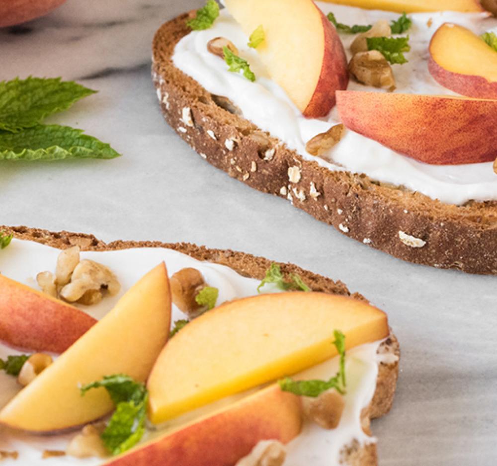 Peachy Keen Toast Recipe Image