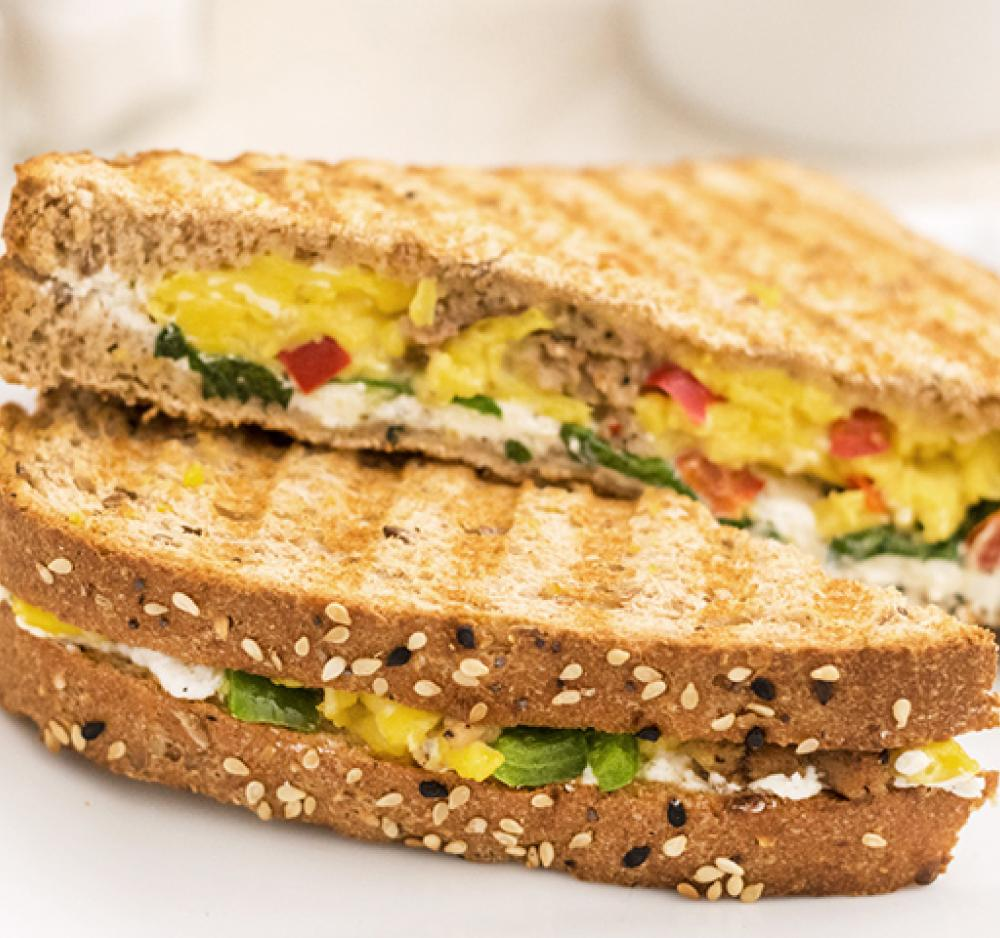 Breakfast Panini Recipe Iamge