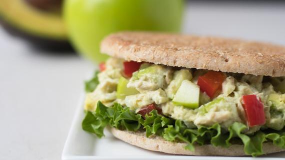 Summer Tuna Salad Sandwich Recipe Image