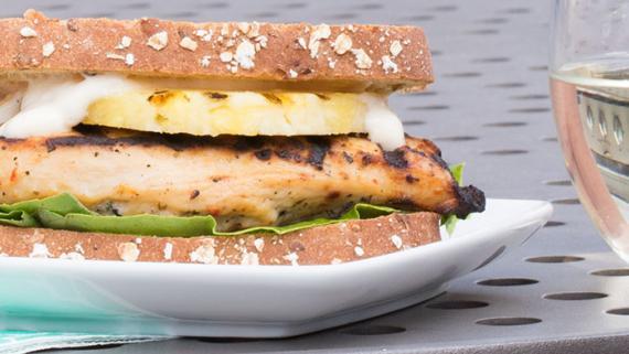 Aloha Sandwich Recipe Image