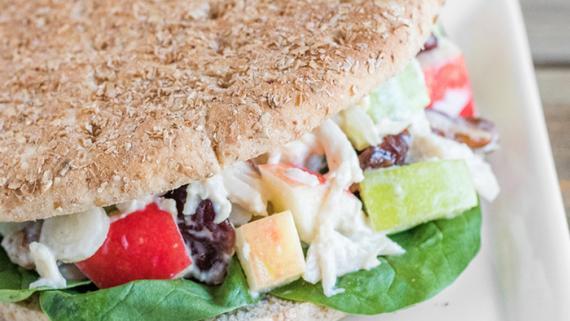 Apple Chicken Salad Sandwich Recipe Image