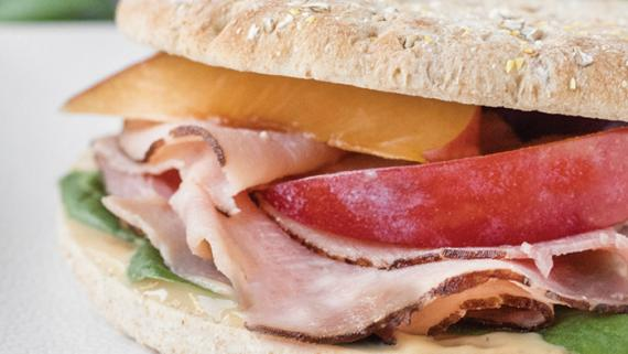 Ham & Plum Sandwich Recipe Image