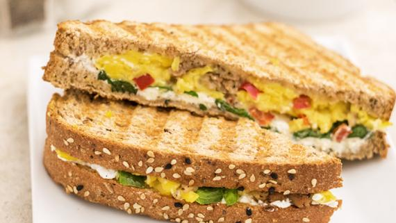 Breakfast Panini Recipe Iamge