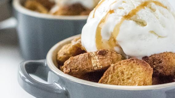 Gingerbread Pudding Recipe Image