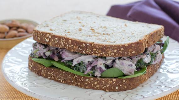 Cherry Almond Chicken Salad Recipe Image