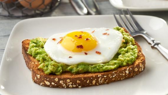 Egg and Avocado Toast Recipe Image