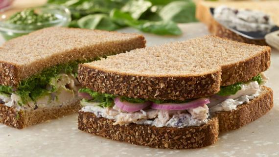 Flavor-Packed Skinny Greek Sandwich Recipe Image
